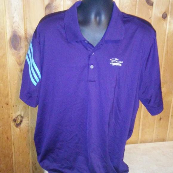 Adidas camicie golf uomini 2xl viola dune polo t4 poshmark